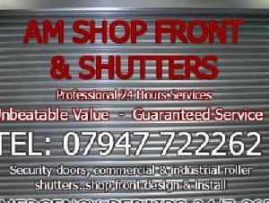 AM Shop Front & Shutters