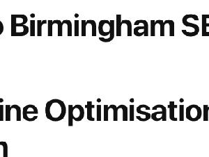 Birmingham SEO Agency   Search Engine Optimisation