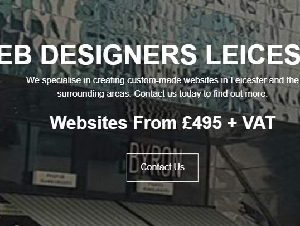 Web Designers Leicester
